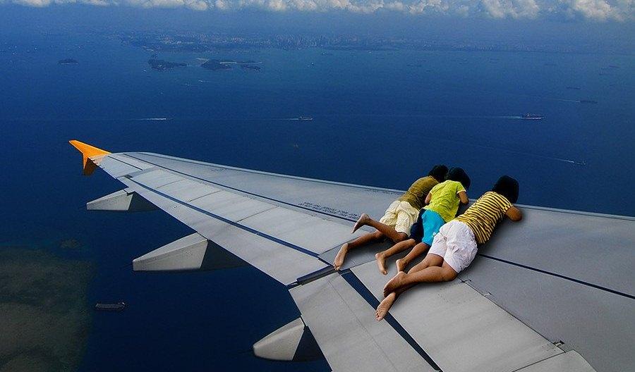 веселые картинки про полеты колотило только холода