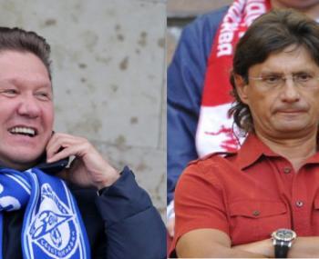 Алексей Миллер против Леонида Федуна