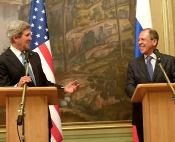 Пресс-конференция Лаврова и Керри в Сочи