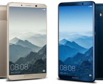 Huawei  презентовал новые смартфоны
