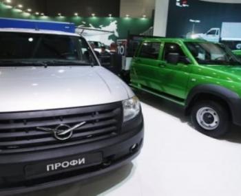Новые спецавтомобили УАЗ