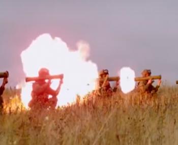 испытания огнемёта «Приз»