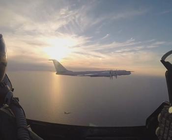 Полет над Балтикой
