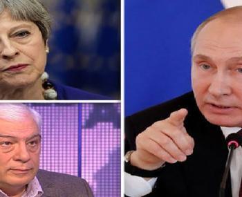 Евгений Бужинский о Путине и Мэй