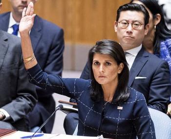 выступление постпреда США в ООН Никки Хейли