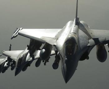 Минобороны России не засекло ВВС Франции