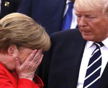 Меркель попросит Трампа о льготах для немецких компаний