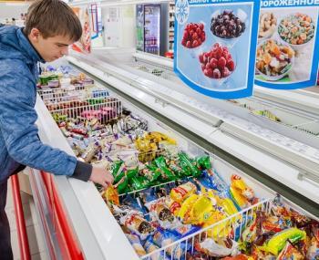 Покупка мороженого