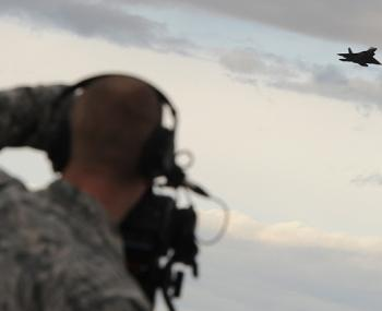 Американцы перехватили российские бомбардировщики