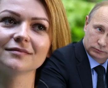 Юлия Скрипаль и Владимир Путин