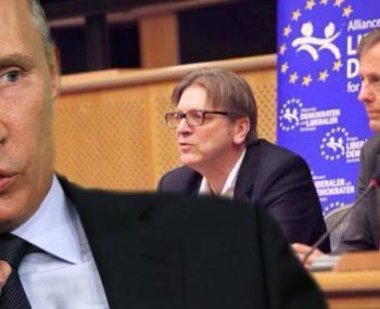 Владимир Путин и Европарламент
