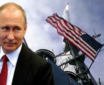 Путин на фоне ПРО США