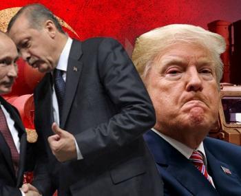 Путин, Эрдоган, Трамп