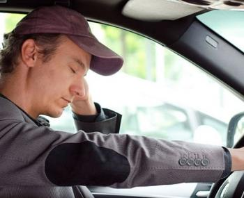 Водитель заснул за рулем