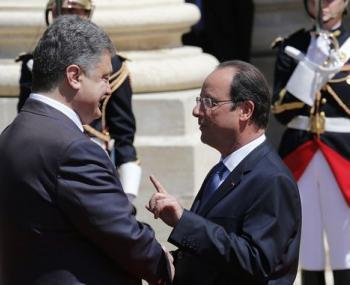 Об обязательствах Украины призвали  напомнить во Франции