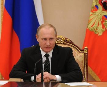 Глава государства В.В,Путин