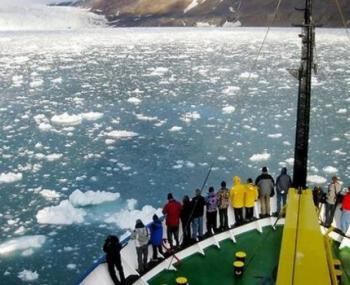 Количество туристов в Арктике растет