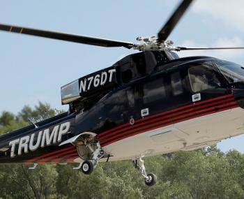 СМИ рассказали о жесткой посадке вертолета Трампа, которую скрывали в США