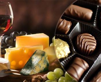 Вино и шоколад в борьбе с лишним весом