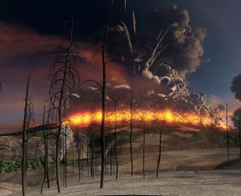 что станет с США в случае извержения