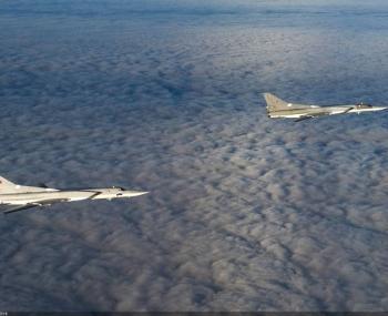 Вылет российских самолетов Ту-22