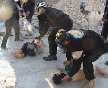 Химатака в Сирии