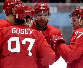 Хоккей, Россия - Южная Корея, кто выиграл, счет