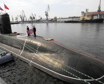 Флот России у базы НАТО