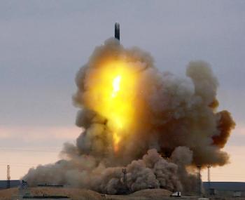 Запуск гиперзвуковой ракеты