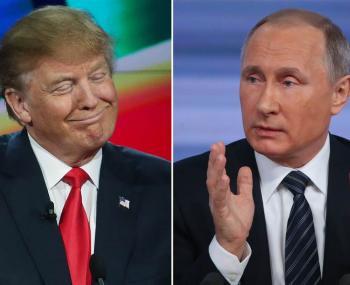 Интернет взорвал клип про всемогущего Путина с участием Трампа