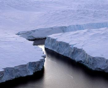 В Антарктиде обнаружили айсберг размером с Эстонию