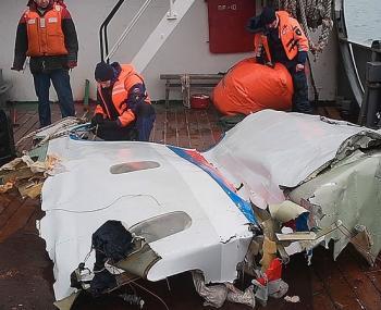 создана математическая модель падения Ту-154