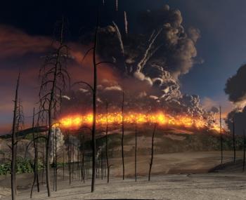 у человечества год для подготовки к извержению супервулкана