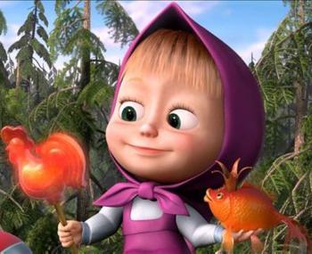 персонаж из мультфильма «Маша и Медведь»