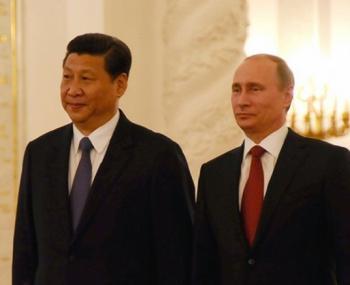 Путин-Си Цзиньпин