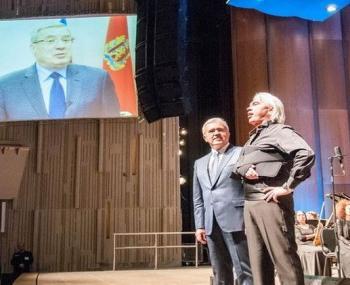 выступление Хворостовского в Красноярске