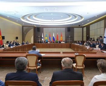 В Сочи состоялось заседание Евразийского межправсовета