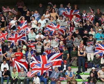 футбольные болельщики Британии