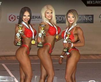 Абсолютной чемпионкой турнира по фитнес-бикини стала девушка из Костромы