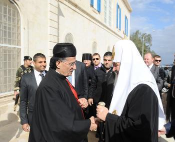 Патриарх Кирилл посетит Сирию