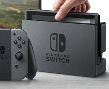 Новая игровая консоль Nintendo Switch