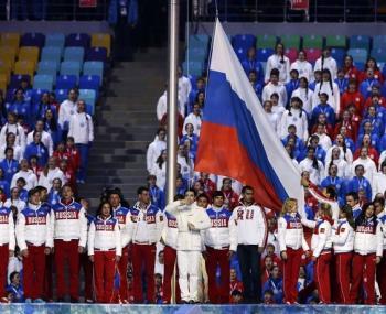 Оригинальный вариант логотипа для российских спортсменов предоставил МОК