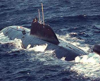 русская подводная лодка