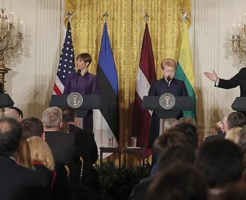 Трамп обещал странам Балтии
