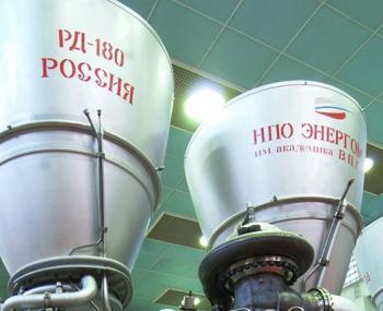 запретить поставки Титана и ракетных двигателей РД-180