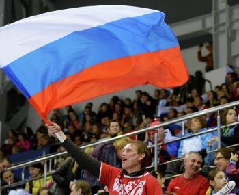 """Российский """"триколор"""" за """"Красную машину"""": болельщики показали, как они относятся к запретам МОК"""