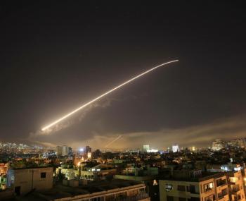 Сирия передала России две неразорвавшиеся ракеты США