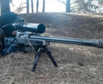 """Российская снайперская винтовка СВЛК-14С """"Сумрак"""""""