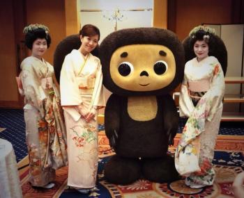Чебурашка в Японии
