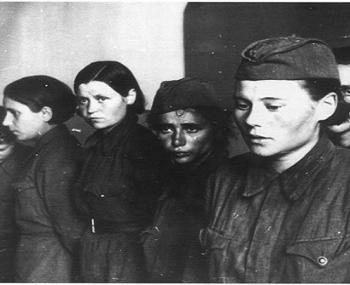 женщины-военнопленные
